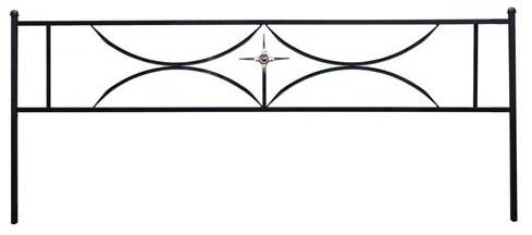 Ограда дуговая с крестом