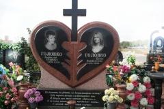 памятники на могилу из гранита 43