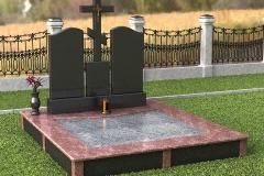 памятники на могилу из гранита 52