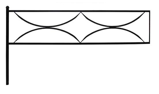 Ограда дуговая 15