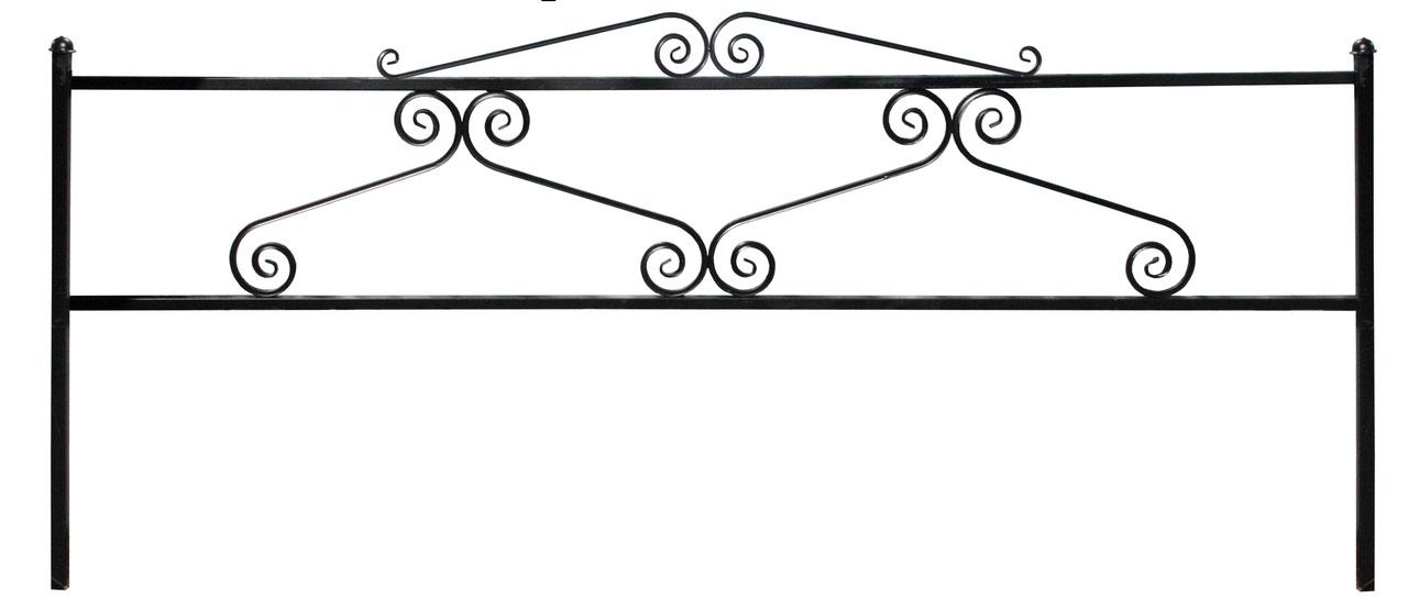 Ограда вензель трубный СНВ